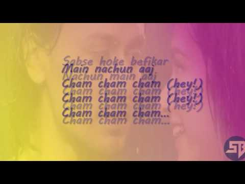 CHAM CHAM lyrics full song   Baaghi  monali thakur, meet bros    lyrical video 1 Mp3