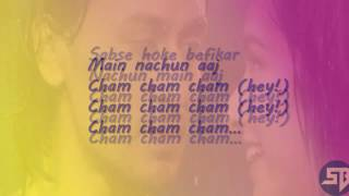 CHAM CHAM lyrics full song   Baaghi  monali thakur, meet bros    lyrical video 1