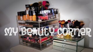 My Beauty Corner | Clear Cube Makeup Storage