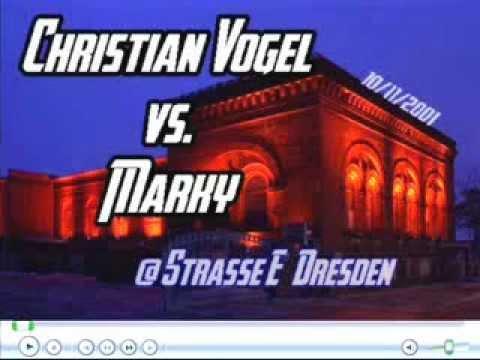 Christian Vogel vs. Marky @ Strasse E   Dresden - 10.11.2001