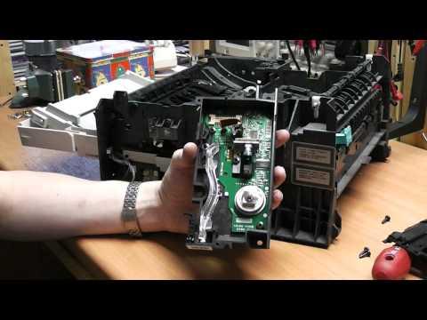 HP LaserJet 6P Disassembly And Teardown