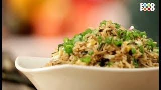 Turban Tadka  Spinach Mushroom and Egg Fried Rice Recipe  Segment 3  Chef Harpal Sokhi