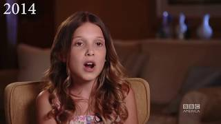 Millie Bobby Brown's voice through the years (2012-2017)