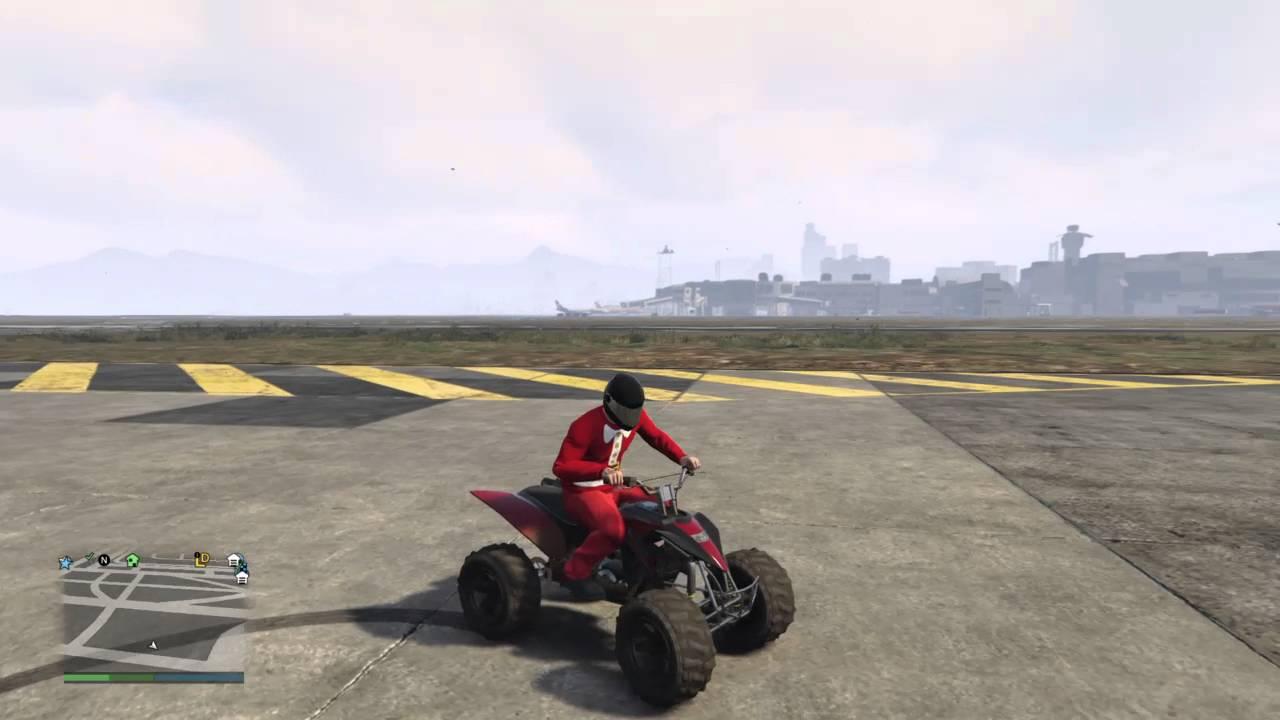 How To Do Wheelies On A Quad Bike In Gta5 Youtube