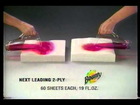 bounty paper towels youtube