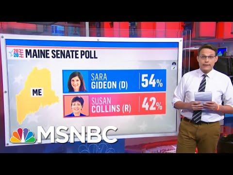 Lindsey Graham In Tight Senate Race, Susan Collins Lagging Behind | Ayman Mohyeldin | MSNBC