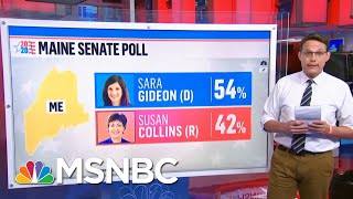 Lindsey Graham In Tight Senate Race, Susan Collins Lagging Behind | Ayman Mohyeldin | MSNBC