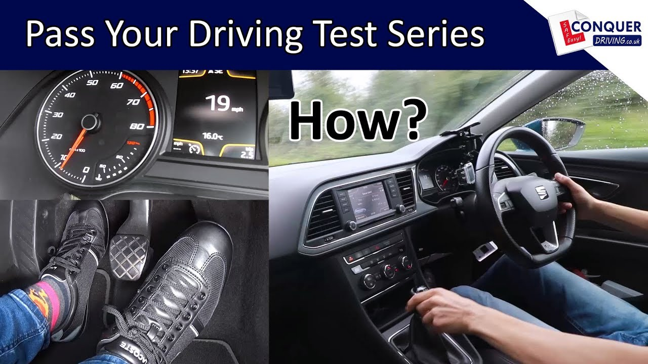Download How to drive a manual car - Driving lesson with clutch advice