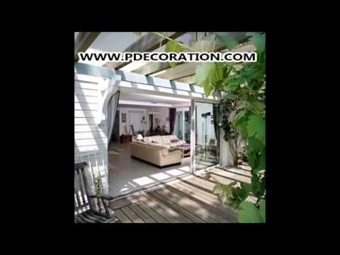 Decoration terrasse photos decoration maison youtube - Deco terrasse maison ...