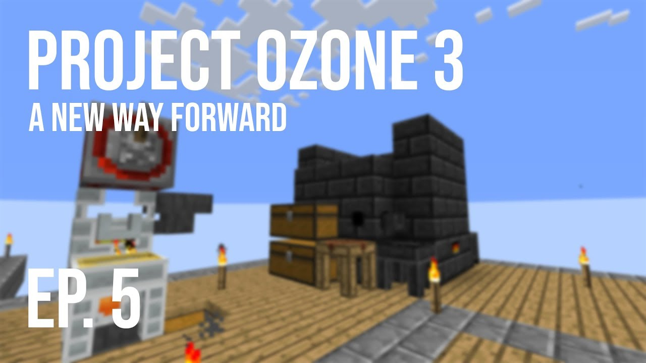 Project Ozone 3: A New Way Forward   Ep  5   Power & Machines!!
