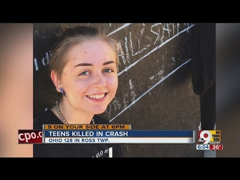 Teenage friends killed in crash on Ohio 128 in Ross Township