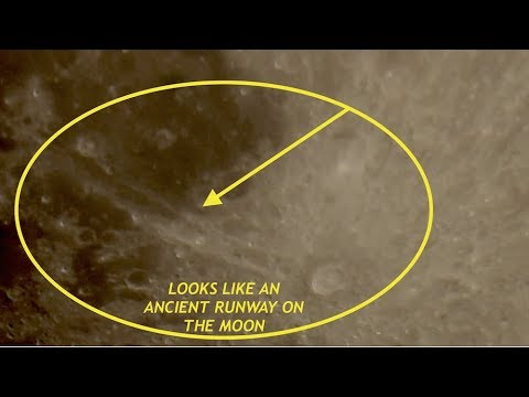 Crazy Zoom 4K HDTV of Moon - Looking For UFO's, What is This Massive Anomaly?