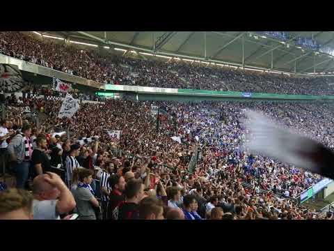 Schalke-Eintracht Frankfurt / Halbfinale / Torjubel zum 0-1