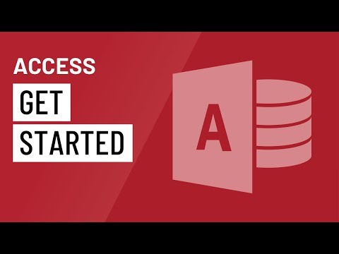 Access 2016: Getting Started in Access