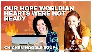 """Reacting to """"Chicken Noodle Soup"""" - J-Hope Ft. Becky G"""