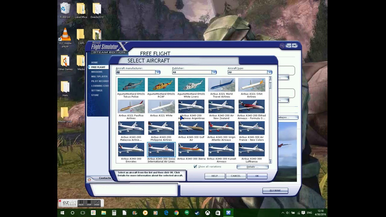 Airbus A340-XXX (All variations!) Mod for FSX!