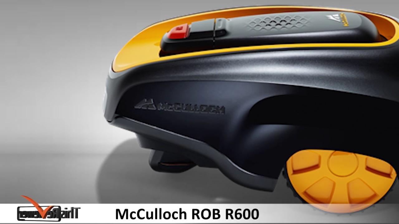Test du robot tondeuse à gazon McCulloch Rob R600 4