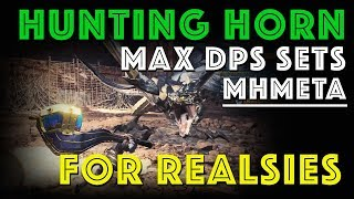 Mathematically Best Hunting Horn Builds (Ft. Griffted | MHW)
