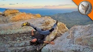 Repeat youtube video HORRIFIC CLIFF FALL - Does NOT Make Jump!