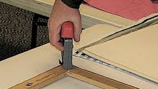 How To Build A Canvas Stretcher - Easy Method