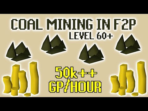 [OSRS] Mining Coal At The Mining Guild In F2P