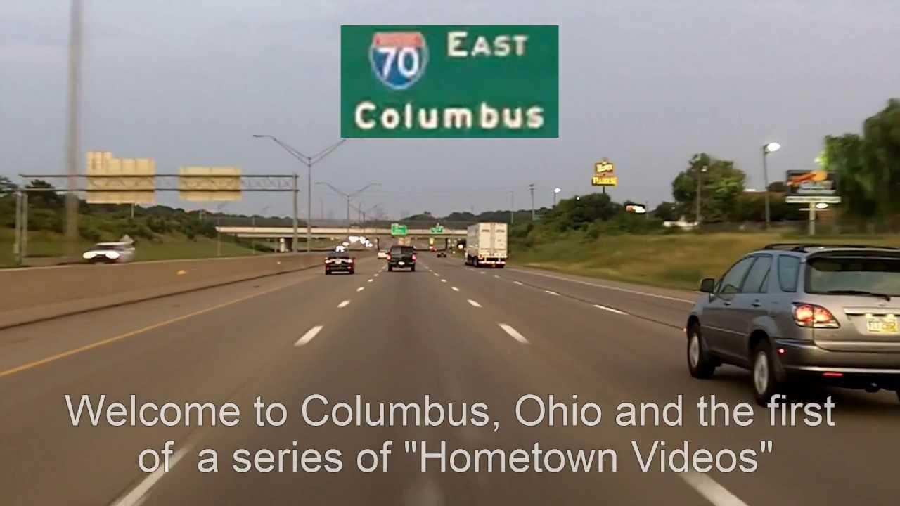 Columbus Ohio Evening Drive Youtube