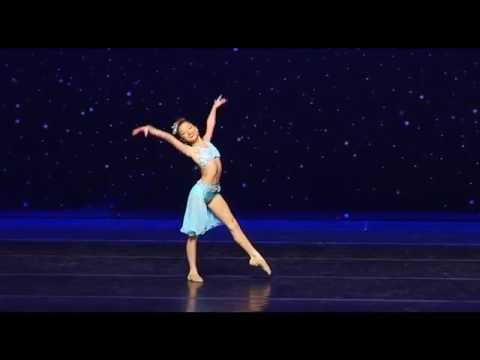 """""""I Look To You"""" Olivia Taylor (Age 10 Lyrical Solo)"""
