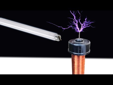 How To Make TESLA Coil ?! - Awesome Ideas / POWERFULL TESLA Coil