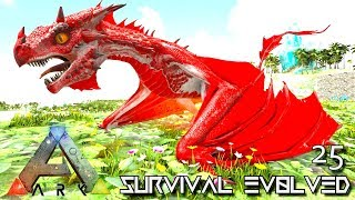ARK: SURVIVAL EVOLVED: BABY ALPHA WYVERN U0026 GRIFFIN E25 !!! ( ARK