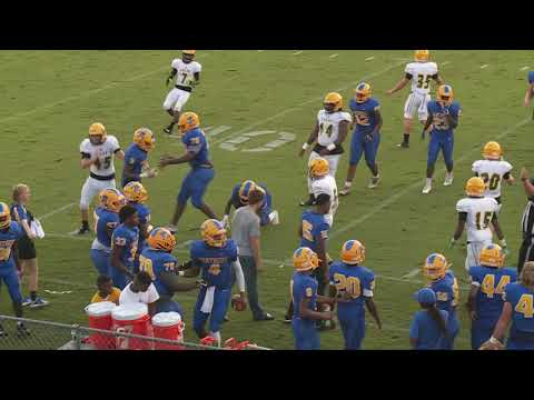Palatka High Panthers vs Yulee High Hornets  8-24-18