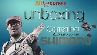 Unboxing Carretilha SHIMANO Casitas 151HG ( Aliexpress )