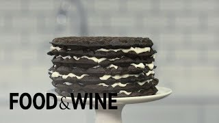 How to Make a Waffle Layer Cake | Mad Genius Tips | Food & Wine