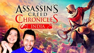 ASSASSIN'S CREED INDIA | LIVE STREAM LETS PLAY | Jaby Koay & Captain Kirk