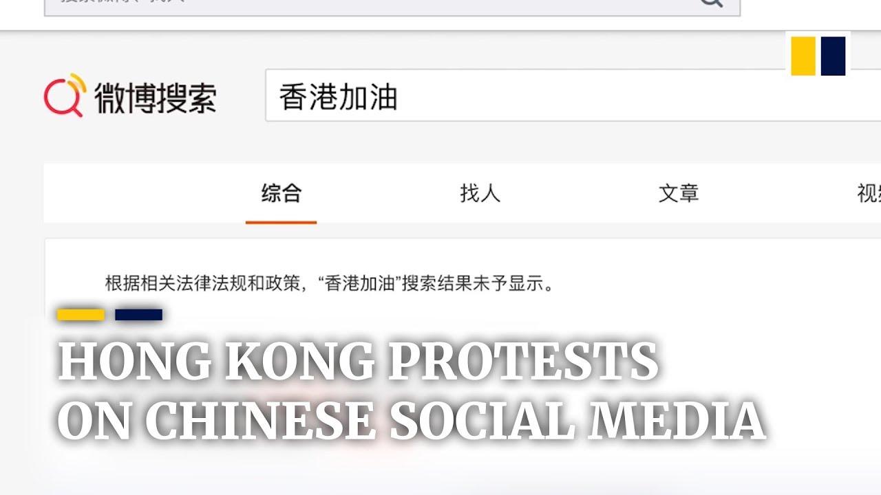 China's internet warriors going to battle over Hong Kong