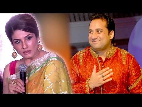 Raveena Tandon Comment On Rahat Fateh Ali khan's SONG In MAATR