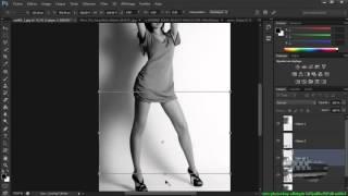 tuto tuto photoshop allonger les jambes d'un model