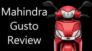 Mahindra Gusto Review And Walk Around With Price, Specs And Features