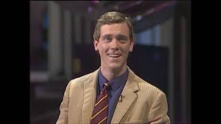 Saturday Live Channel 4 1987 - Fry and Laurie Predict Social Distancing