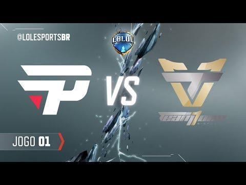 paiN Gaming x Team One (Jogo 1 - Fase de Pontos - 1ª Etapa) - CBLoL 2018