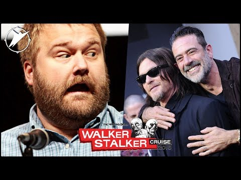 Robert Kirkman, Jeffrey Dean Morgan & Norman Reedus?!!  Walker Stalker Cruise 2018