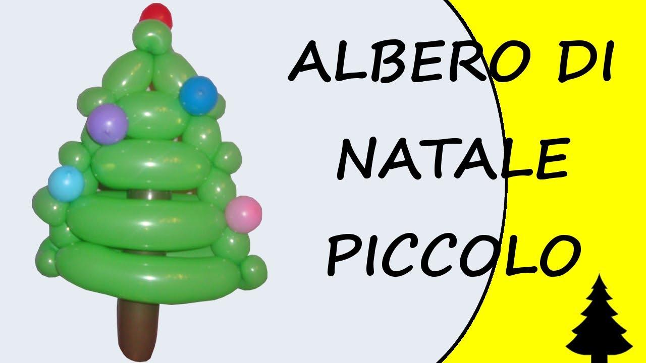 Palloncini modellabili albero di natale piccolo - Albero di natale stampabili gratis ...
