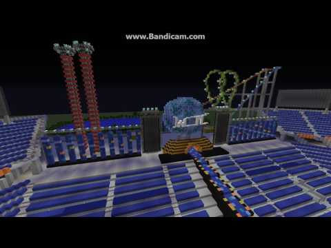 WRESTLEMANIA 33 REAL STAGE Minecraft+Download
