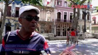 Cubanos opinan sobre atletas condenados por violación en Finlandia