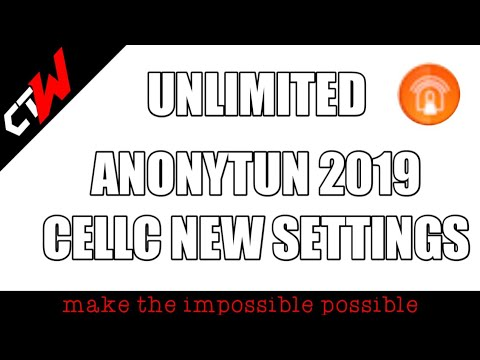 FREE INTERNET TRICKS:NEW UNLIMITED ANONYTUN CELL C SETTINGS 2019