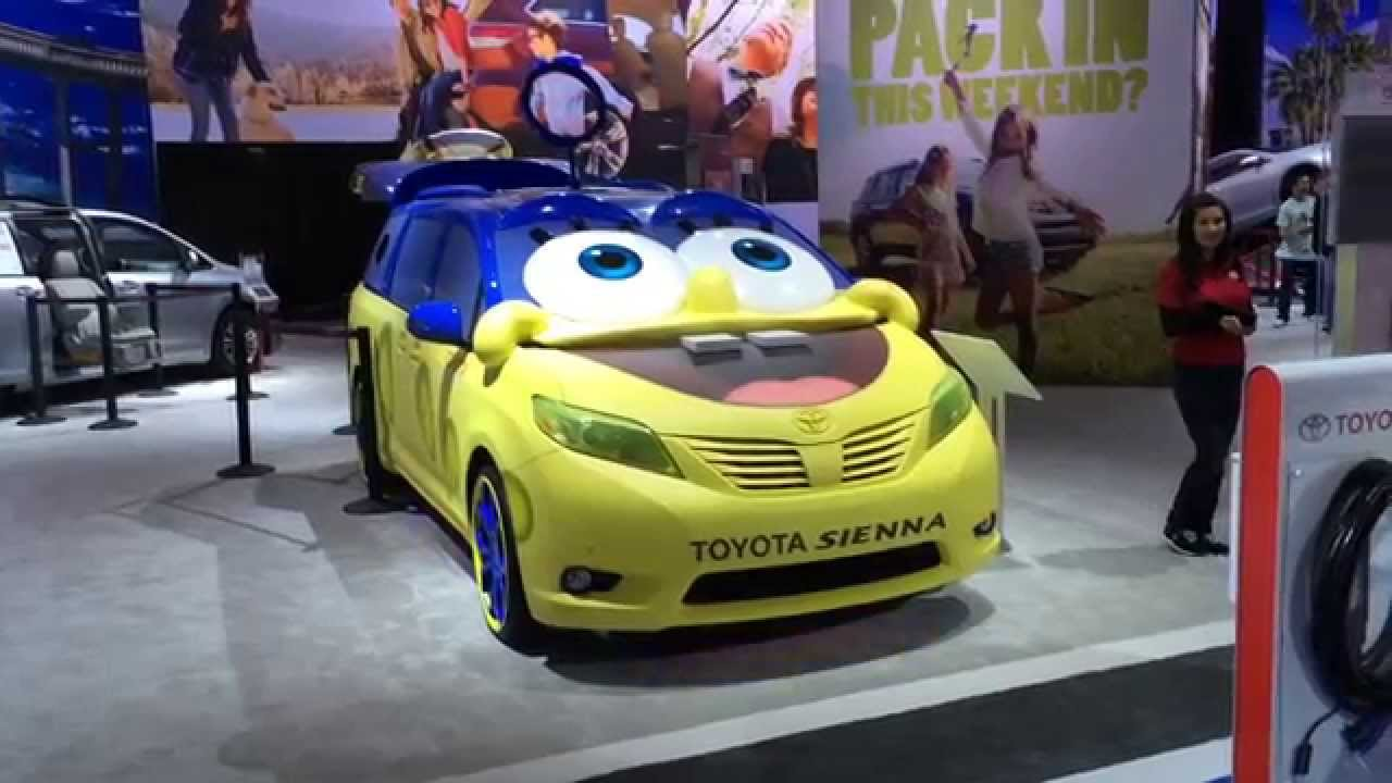 SpongeBob Square Car - YouTube