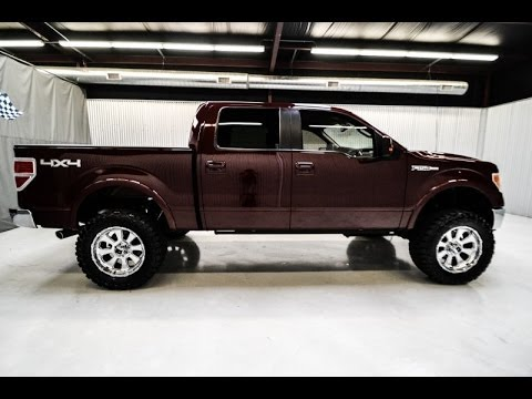 2010 ford f150 supercrew lariat 4x4 lifted truck youtube. Black Bedroom Furniture Sets. Home Design Ideas