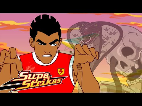 BRAND NEW Supa Strikas - Season 7! - T'omb It May Concern! | Soccer Cartoon For Kids
