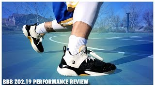 Big Baller Brand Zo2.19 Performance Review