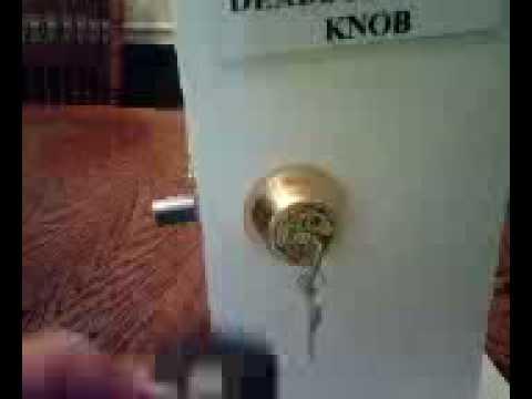 RF Remote Controlled Door Lock Dead Bolt Door Handle - YouTube