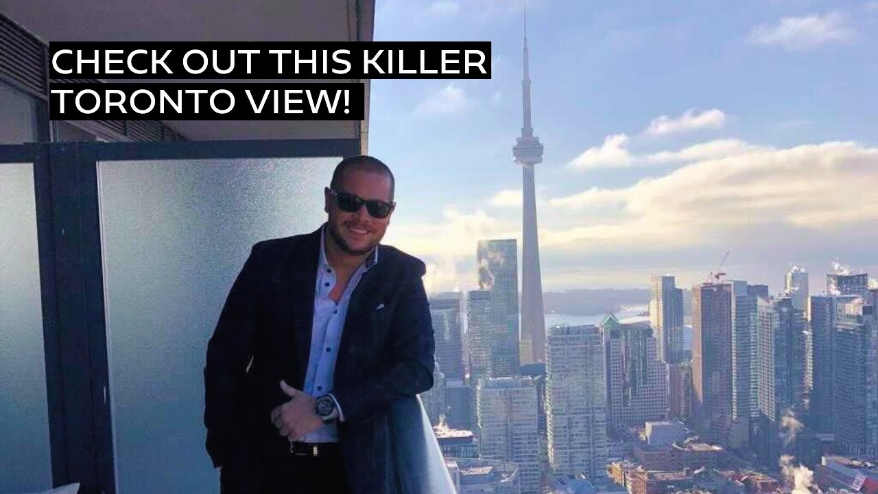 Check out this killer Toronto view!